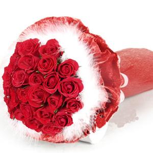24朵红玫瑰