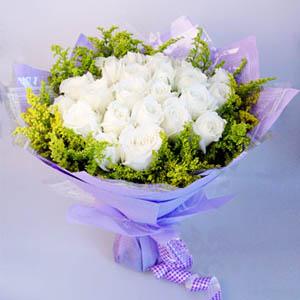 白玫瑰花束推荐