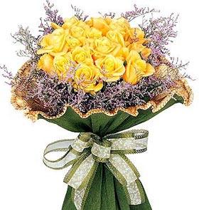 黄玫瑰花束